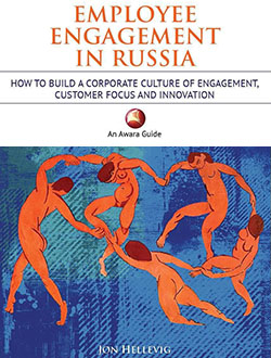 Book on employee engagement in russia by jon hellevig